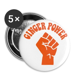 Ginger Power - Buttons small 25 mm