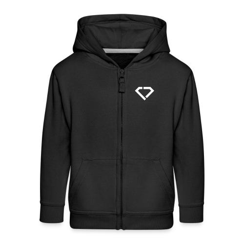 LOGO - classic black jacket kids - Kinder Premium Kapuzenjacke