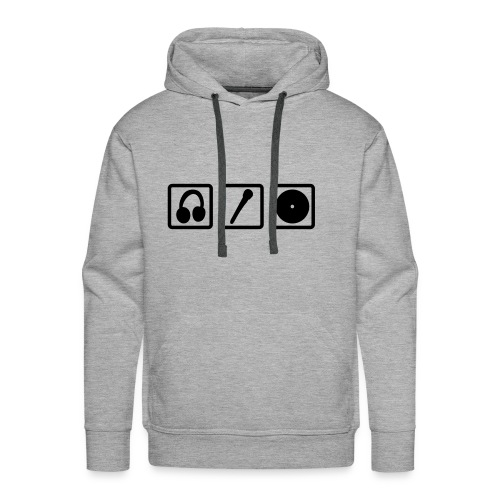 music symbols - Men's Premium Hoodie