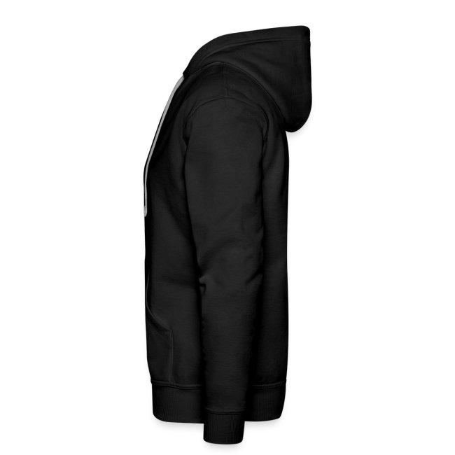 LOGO - classic black hoodie men