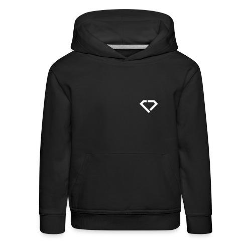 LOGO - classic black hoodie kids - Kinder Premium Hoodie
