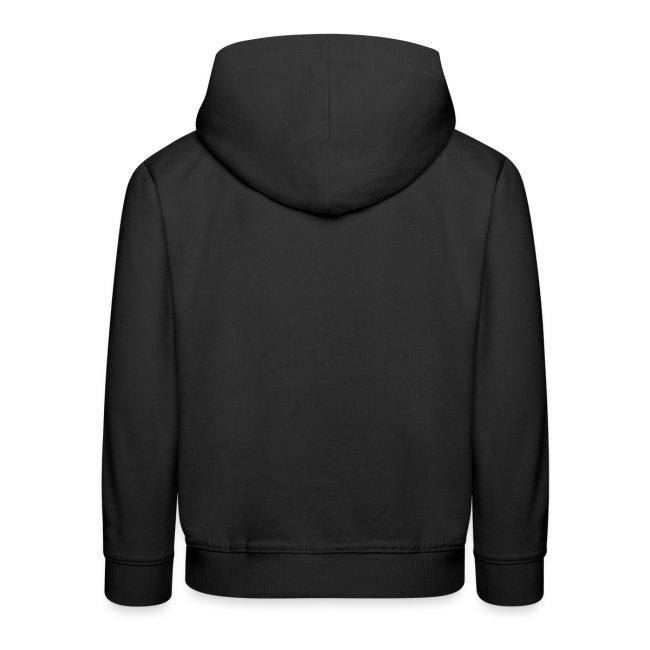 LOGO - classic black hoodie kids