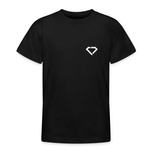 LOGO - classic black t-shirt kids - Teenager T-Shirt