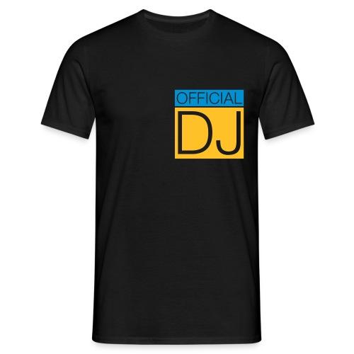 Logo Official DJ - Männer T-Shirt