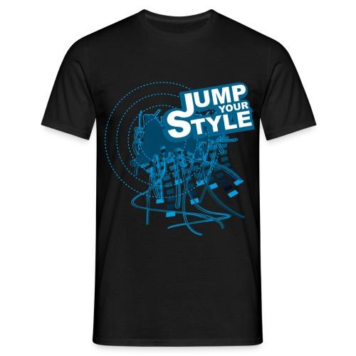 Logo Jump your Style - Männer T-Shirt