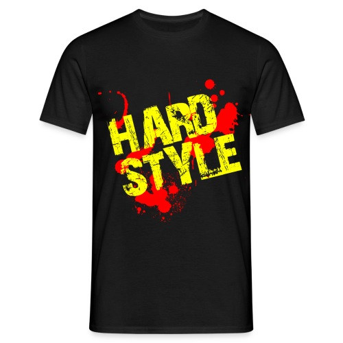 Logo Hardstyle - Männer T-Shirt