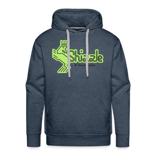 Hoodie Green Shizzle Soundsystem - Männer Premium Hoodie