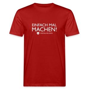 Männer-Shirt Machen!, rot - Männer Bio-T-Shirt