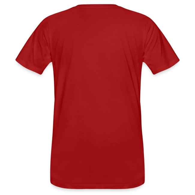 """Männer-Shirt """"Machen!"""", rot"""