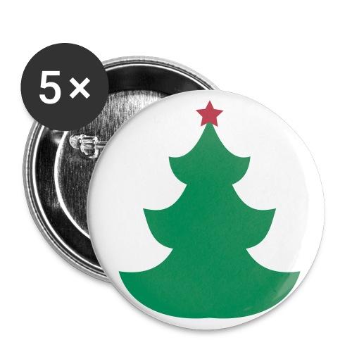 Ansteck Buttons  - Buttons groß 56 mm (5er Pack)