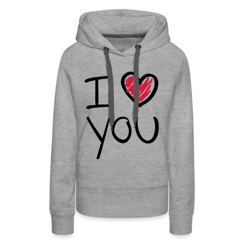 I  - Vrouwen Premium hoodie