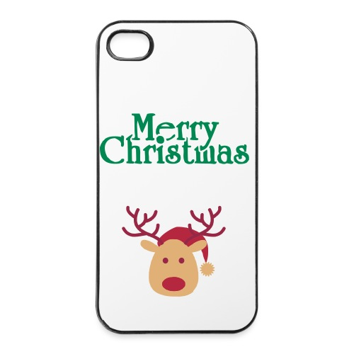 IPone case christmas style - iPhone 4/4s Hard Case