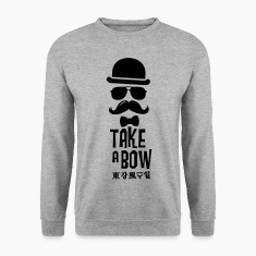 Like a swag bow tie moustache style boss t-shirts Sweat-shirts