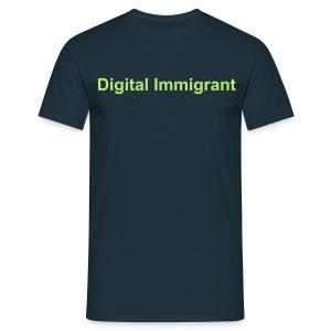 Herren T-Shirt Digital Immigrant - Männer T-Shirt