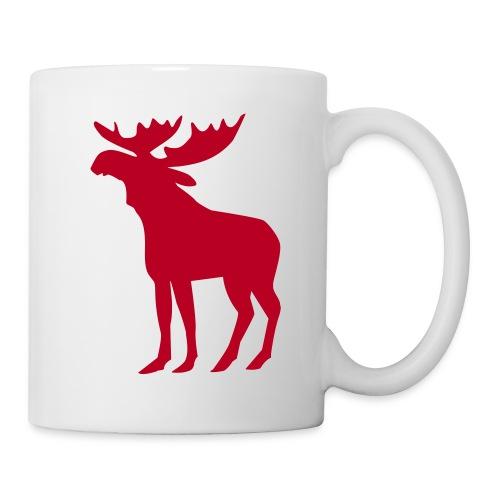 mug les caribous - Mug blanc