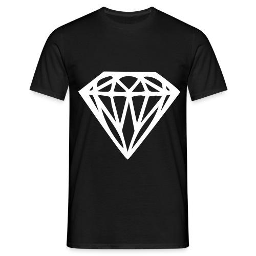 Mannen T-shirt klassiek Diamant - Mannen T-shirt