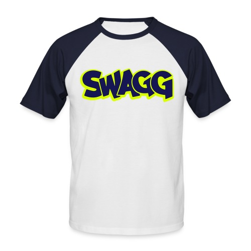 Swagger shirt - T-shirt baseball manches courtes Homme