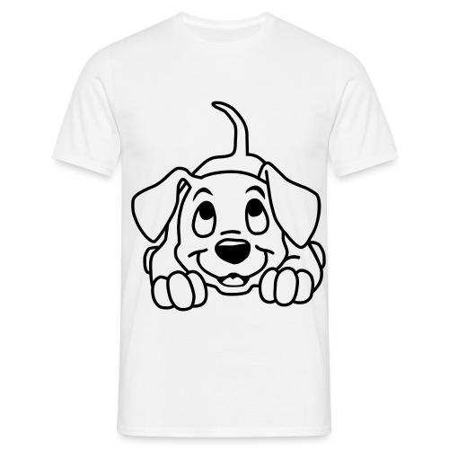 Hund T-Shirt - Männer T-Shirt