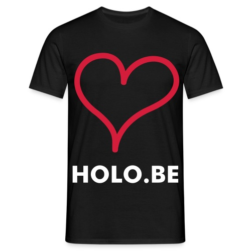I love Holo.be - Mannen T-shirt