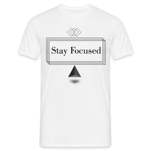 Koszulka Stay Focused - Koszulka męska