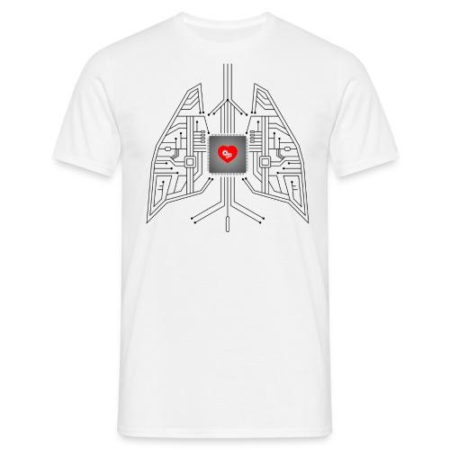 Nerd Heart T-shirt - Men's T-Shirt