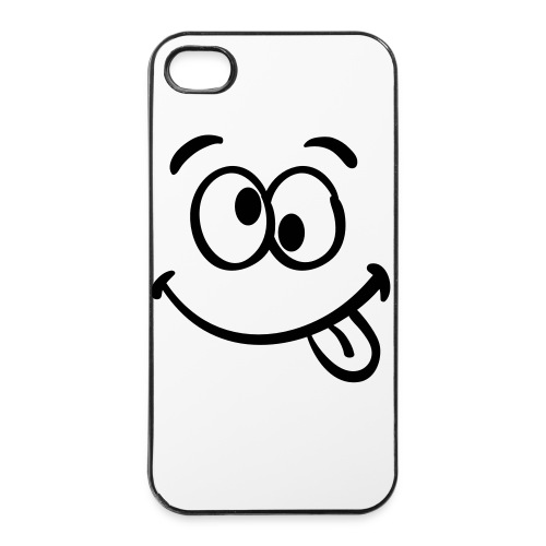 smiley  4/4s case - iPhone 4/4s Hard Case