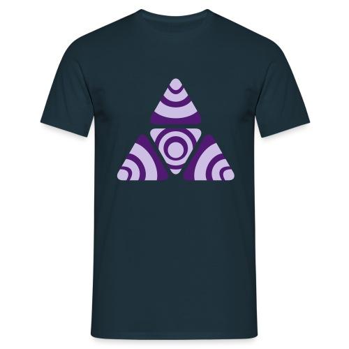 Zebra Triangle - Männer T-Shirt