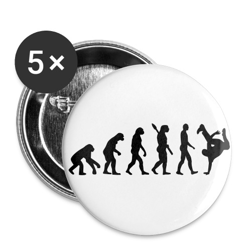Grand badge Evolution Hip-Hop - Badge grand 56 mm
