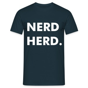 NERD HERD Zonified - Men's T-Shirt