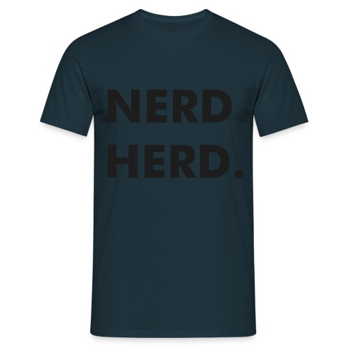 snazzy nerd - Men's T-Shirt