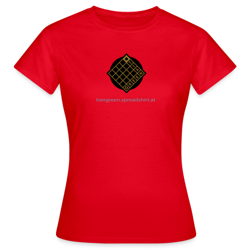 TIAN GREEN Shirts Women - Logo - Frauen T-Shirt