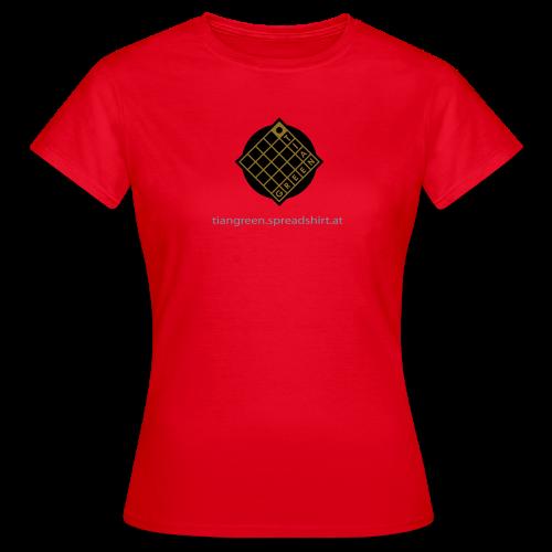 TIAN GREEN Shirts Women - Logo - Frauen T-Shirt