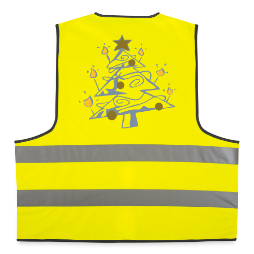 TIAN GREEN Jacket Uni - X Mas Tree - Warnweste
