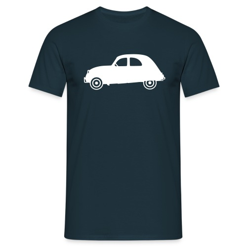 2cv, profil, blanche - T-shirt Homme