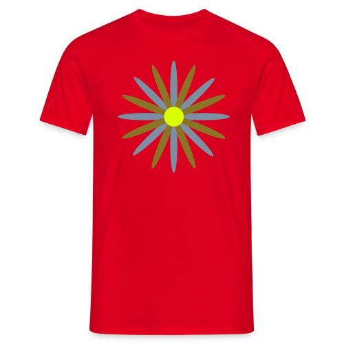 TIAN GREEN Shirts Men - Sonne - Männer T-Shirt
