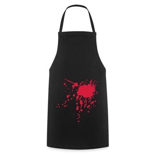 tablier de cuisine blood - Tablier de cuisine