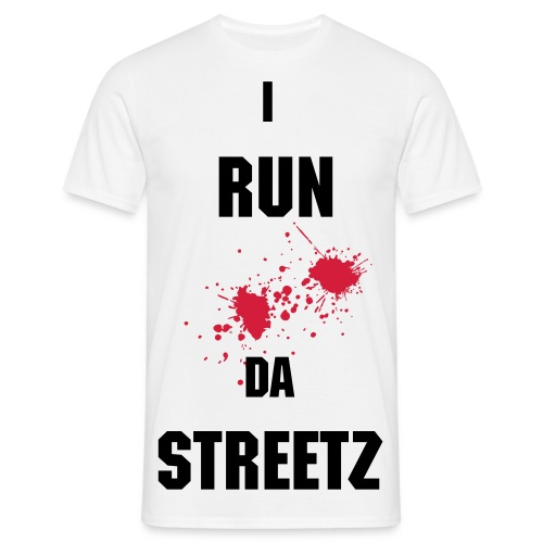 34K I RUN DA STREETZ BLOOD T  - Men's T-Shirt
