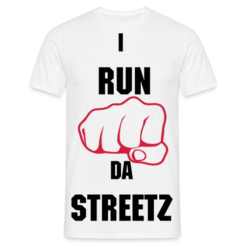 34K I RUN DA STREETZ POWER T  - Men's T-Shirt