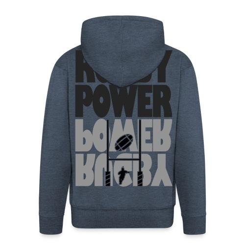 Transformation rugby - Veste à capuche Premium Homme