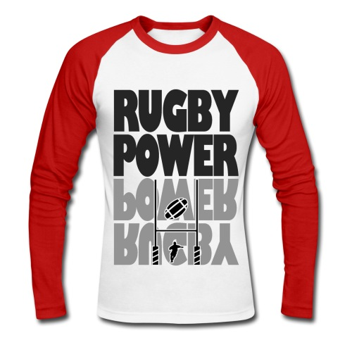 Transformation rugby - T-shirt baseball manches longues Homme