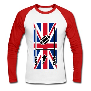 Rugby United Kingdom team - T-shirt baseball manches longues Homme