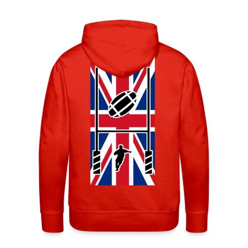 Rugby United Kingdom team - Sweat-shirt à capuche Premium pour hommes