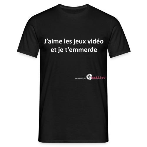 J'aime les jeux vidéo... - T-shirt Homme