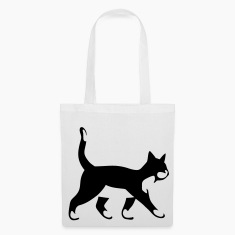 cute cat, kitten Bags