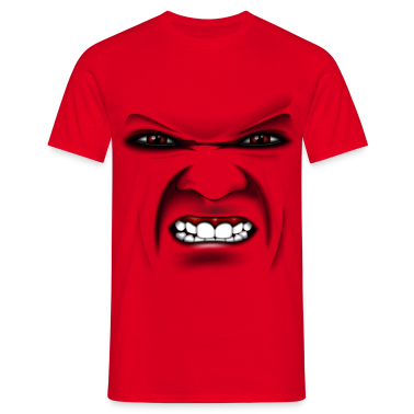 b ses gesicht angry face t shirt. Black Bedroom Furniture Sets. Home Design Ideas