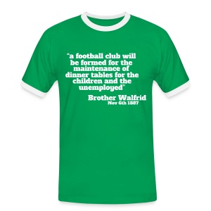 Brother Walfrid - Men's Ringer Shirt