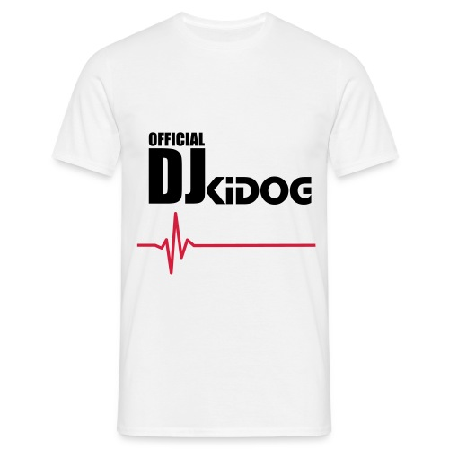 Official DJKiDOG T-Shirt  - Mannen T-shirt
