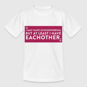 Quote Schizophrenia (1c)++2012 Shirts - Kids' T-Shirt