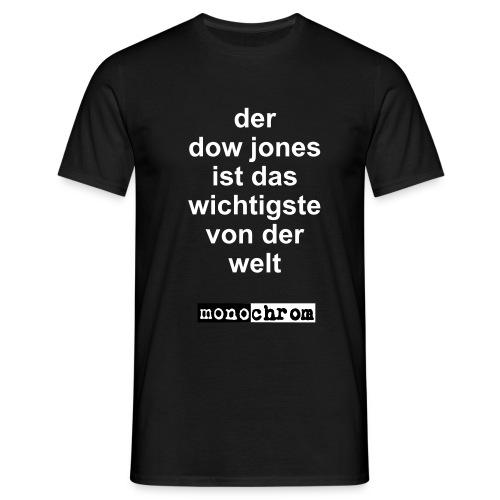 Der Dow Jones - Men's T-Shirt