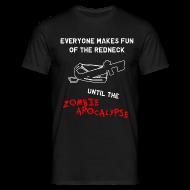 T-Shirts ~ Men's T-Shirt ~ Zombie Redneck T-Shirt
